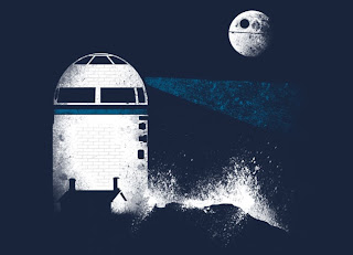 Threadless Star Wars T-shirt &#8220;Rebel Lighthouse&#8221; by Andy Farrell