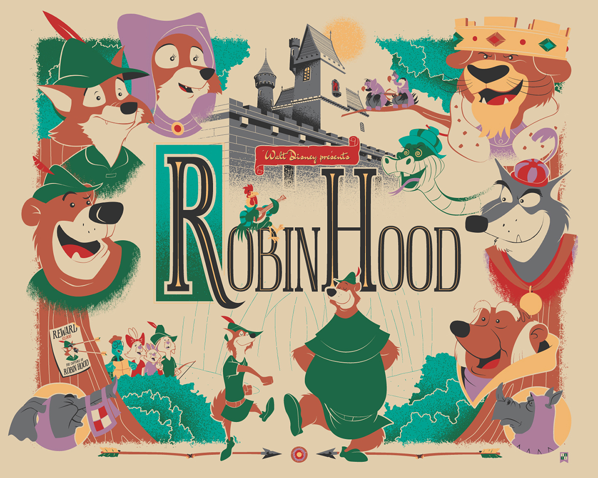 Laura S Miscellaneous Musings Tonight S Movie Robin Hood 1973