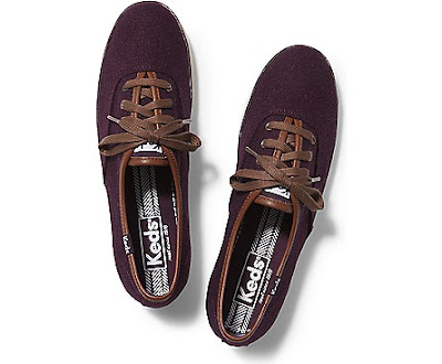 Wine Champion Wool Keds Shoes