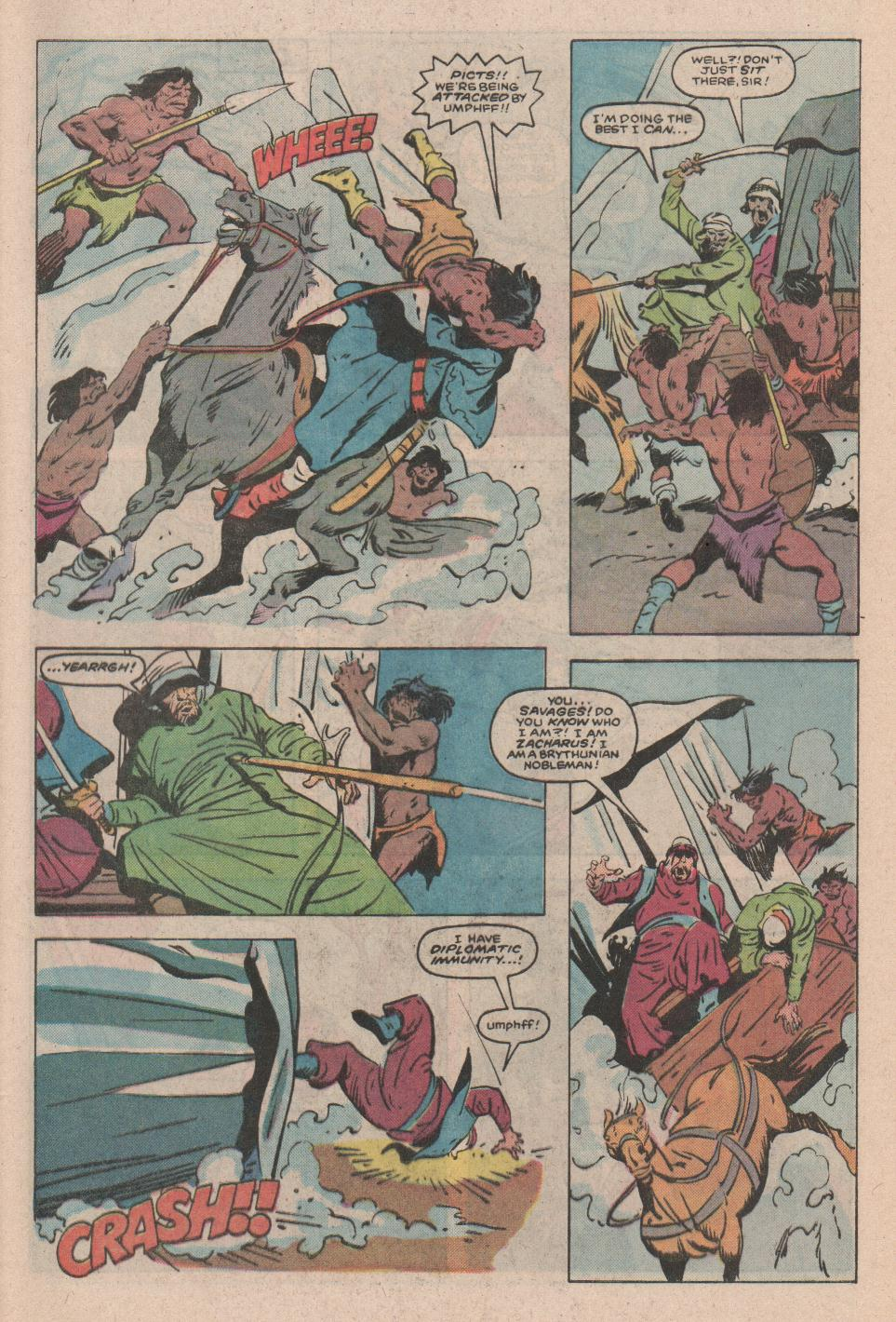 Conan the Barbarian (1970) Issue #172 #184 - English 4