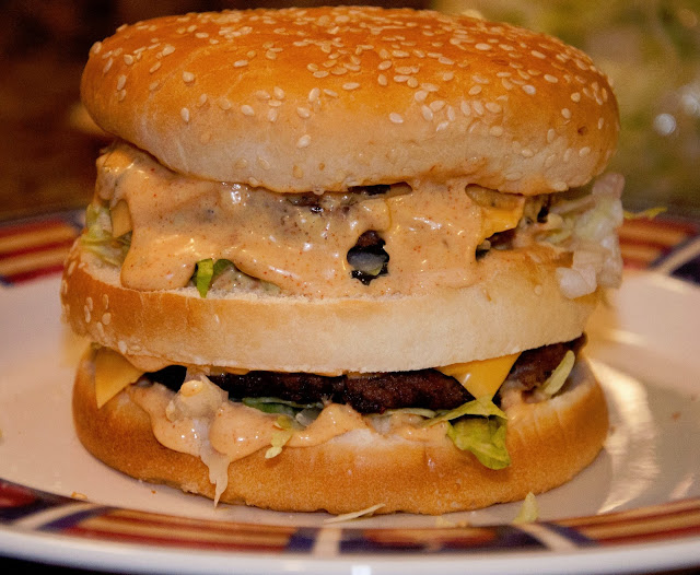 Homemade Healthier Big Macs Recipe — Dishmaps