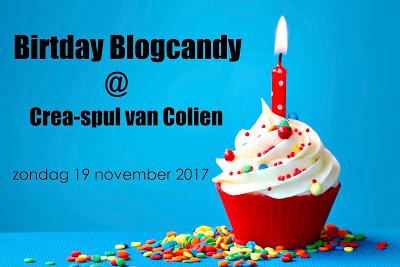 Verjaardagscandy bij Colien