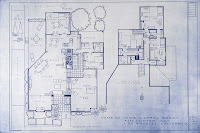 actually these are plans... house plans for a very particular house...