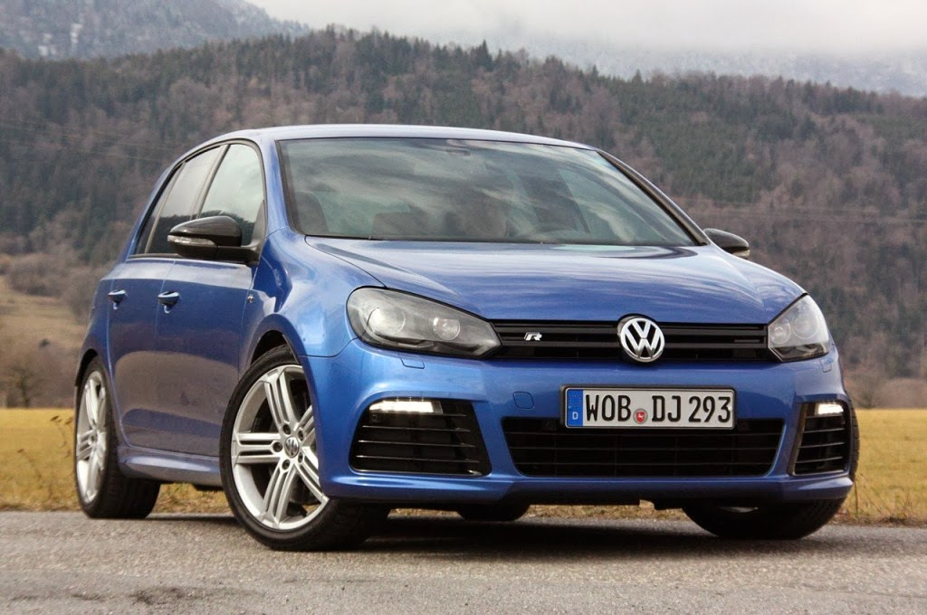 Volkswagen Golf R Front View Cars Pictures