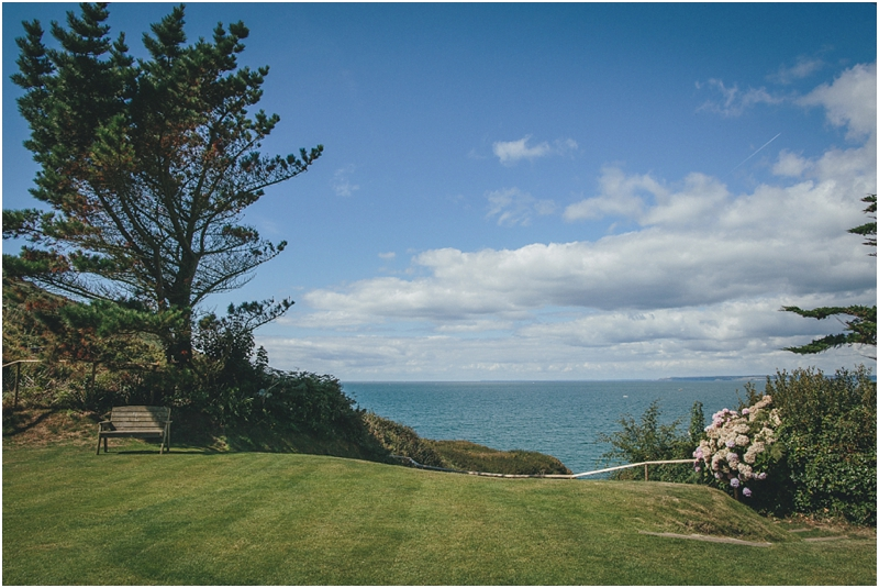 A view across the sea