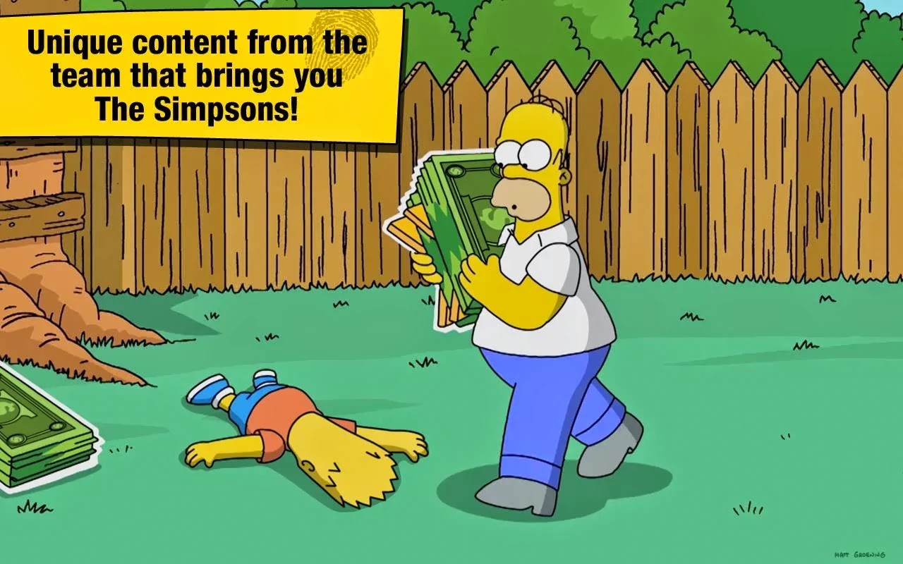 The Simpsons™: Tapped Out v4.8.3 Mod [Unlimited Money & Donuts]