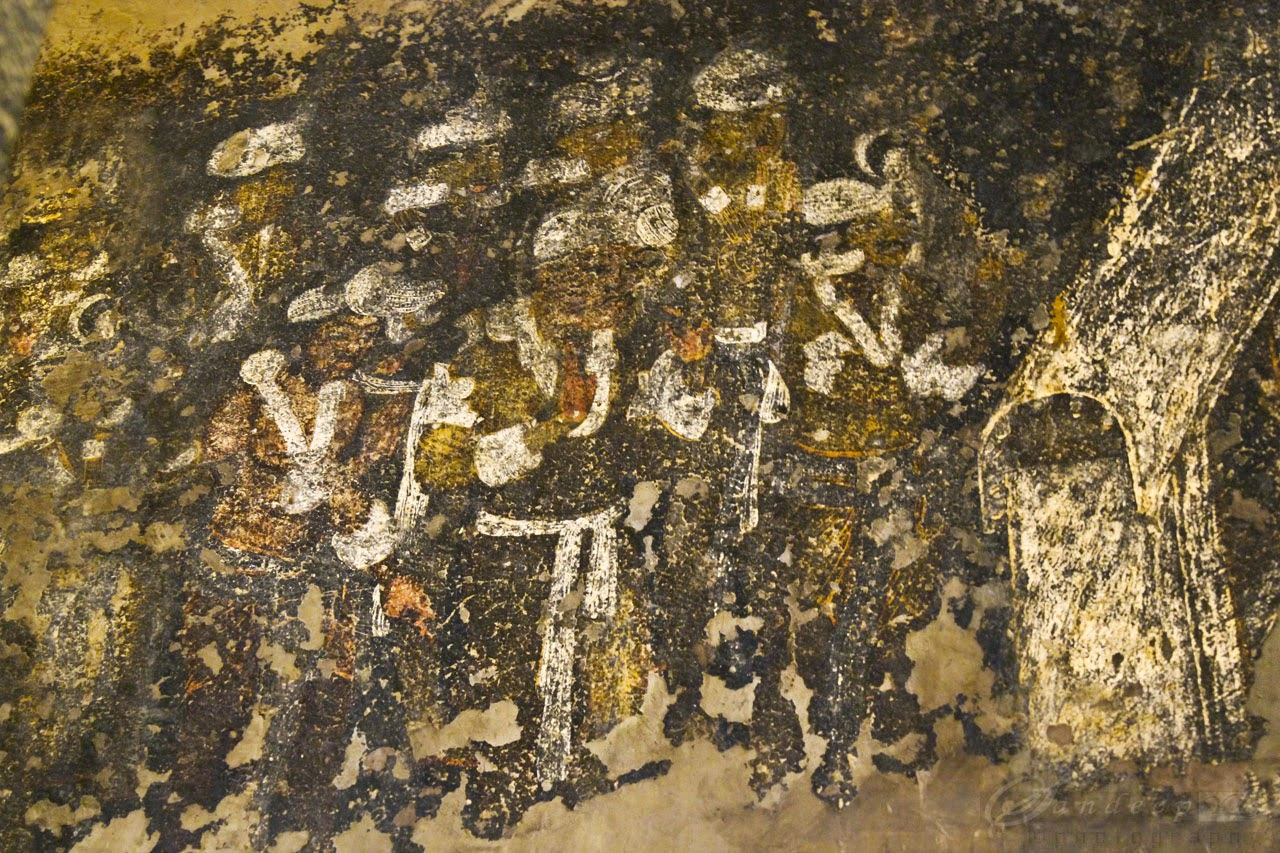 Paintings at Cave 9