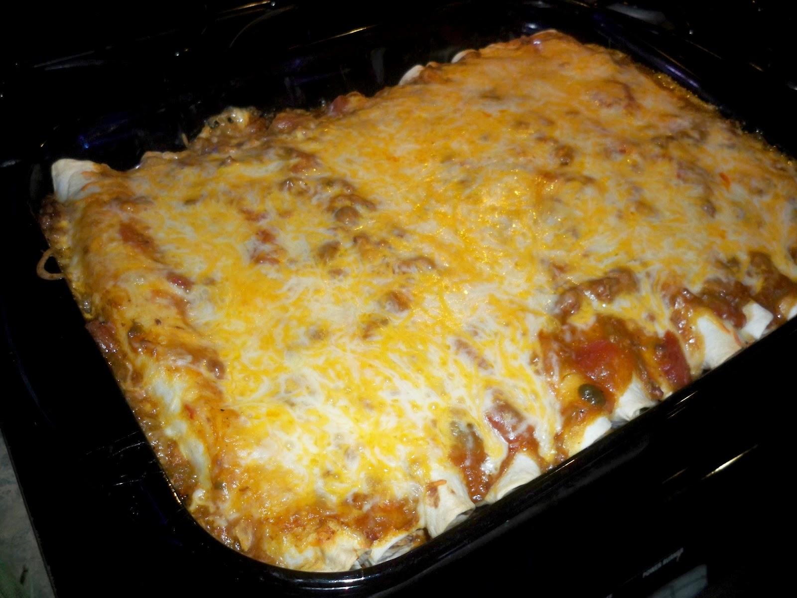 beef enchiladas with cream cheese