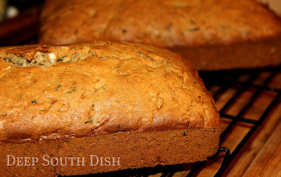 how to cut up zucchini for bread