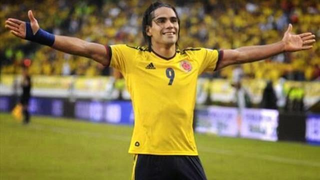 قائمة كولومبيا لمونديال البرازيل بدون فالكاو