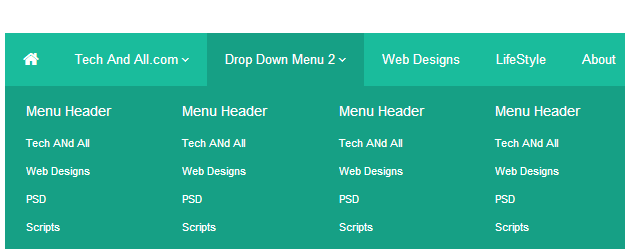 Drop Down Menus