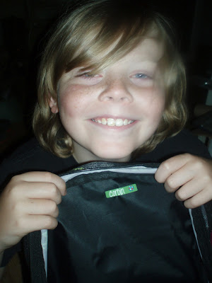 Mabels Labels Tween Pack Sticker on Backpack