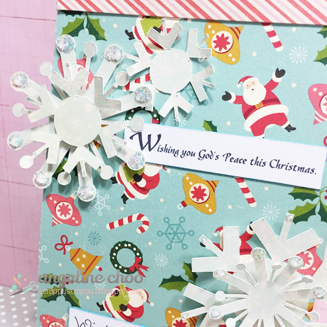 ScrappyScrappy: Christmas treat bags #scrappyscrappy #thecuttingcafe #christmas #treatbag
