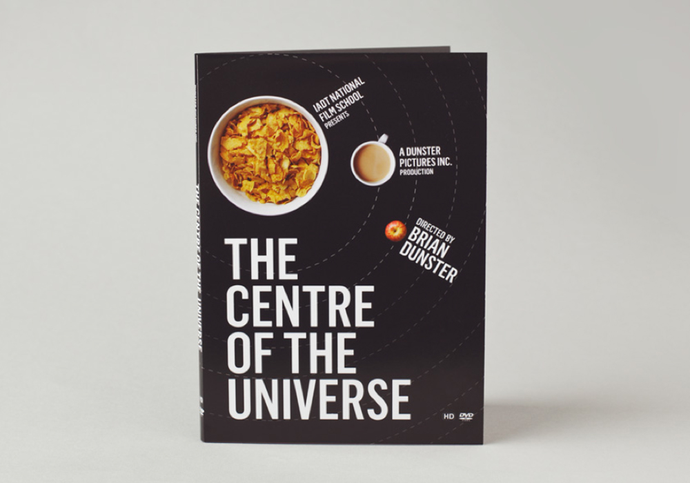 DVD packaging for the National Film School at IADT by Peter McDonagh, Dublin