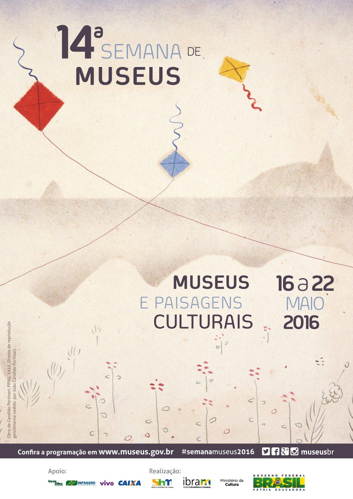 PARTICIPE DA 14ª SEMANA DE MUSEUS