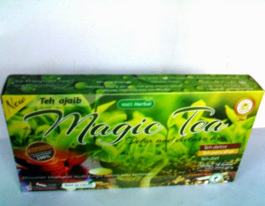 Teh Pelangsing Magic Tea Detox and Dietary Tea  Andiherbal.com