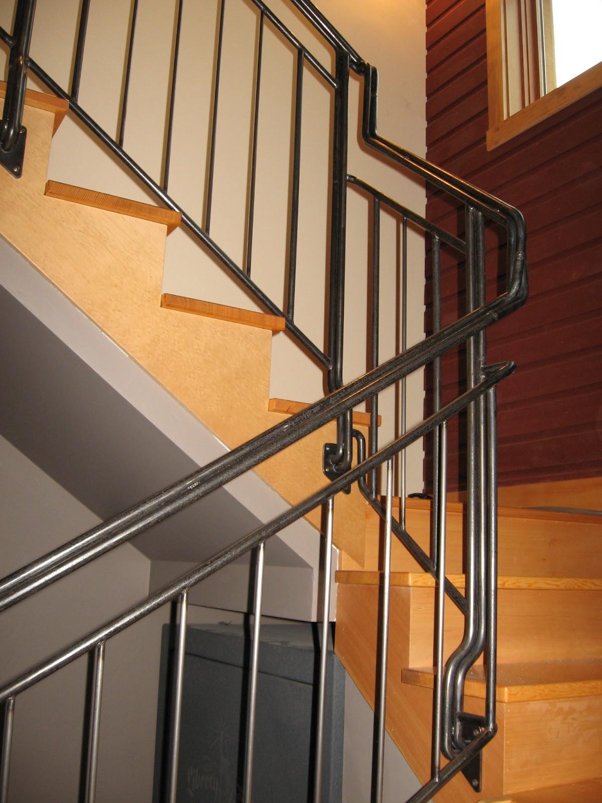 Heavy Metal Works Metal Stair Railing