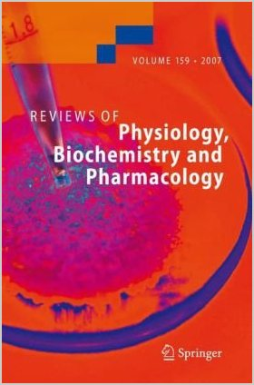 Reviews of Physiology, Biochemistry and Pharmacology 159 PDF