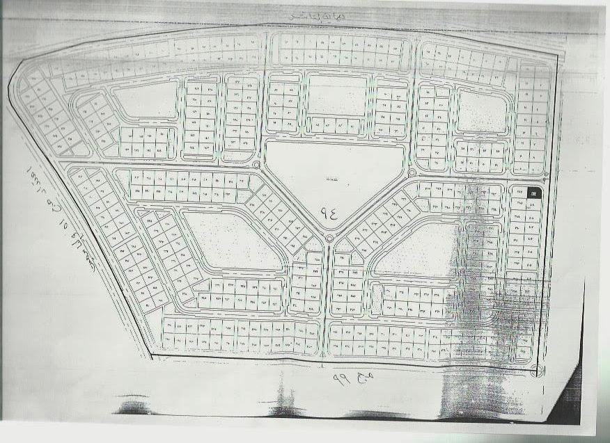 خريطة المجاورة رقم 94 بالعاشر من رمضان