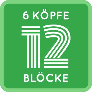 6Köpfe12Blöcke - ein QUILT-SEW-ALONG