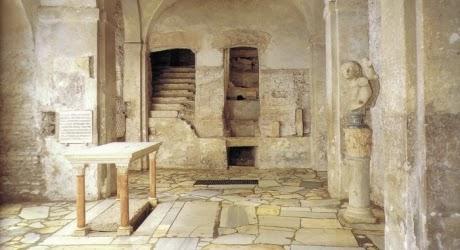 Le catacombe e la basilica di San Sebastiano sull'Appia Antica