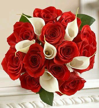 ¡¡Feliz cumpleaños Eva, amor de mi vida!! Bouquets+de+Rosas+Rojas+para+Bodas+8