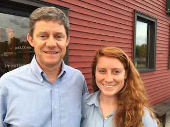 Dem Candidate Mike Derrick and Daughter Caitlin