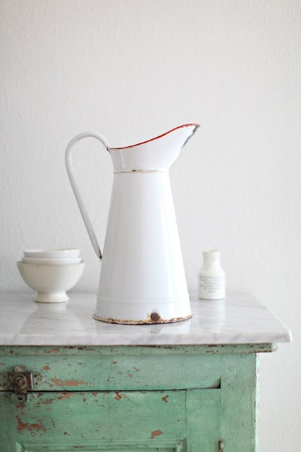 Bobbins And Bombshells, Mid-Week Inspiration, French Enamelware