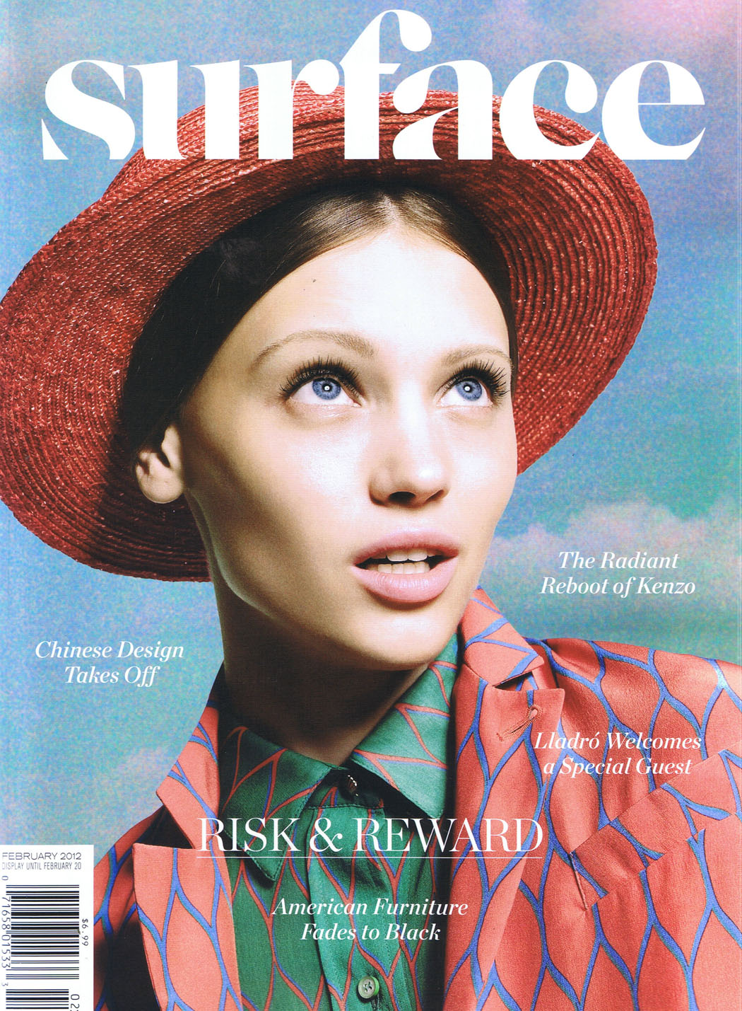 Surface magazine is an American publication covering design, architecture, fashion, culture and travel; it publishes 10 times a year. The publication has an online presence through the Surface 7 biweekly newsletter, as well as through social media.