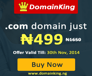 N499 .Com Domain - November Offer   DomainKing Nigeria