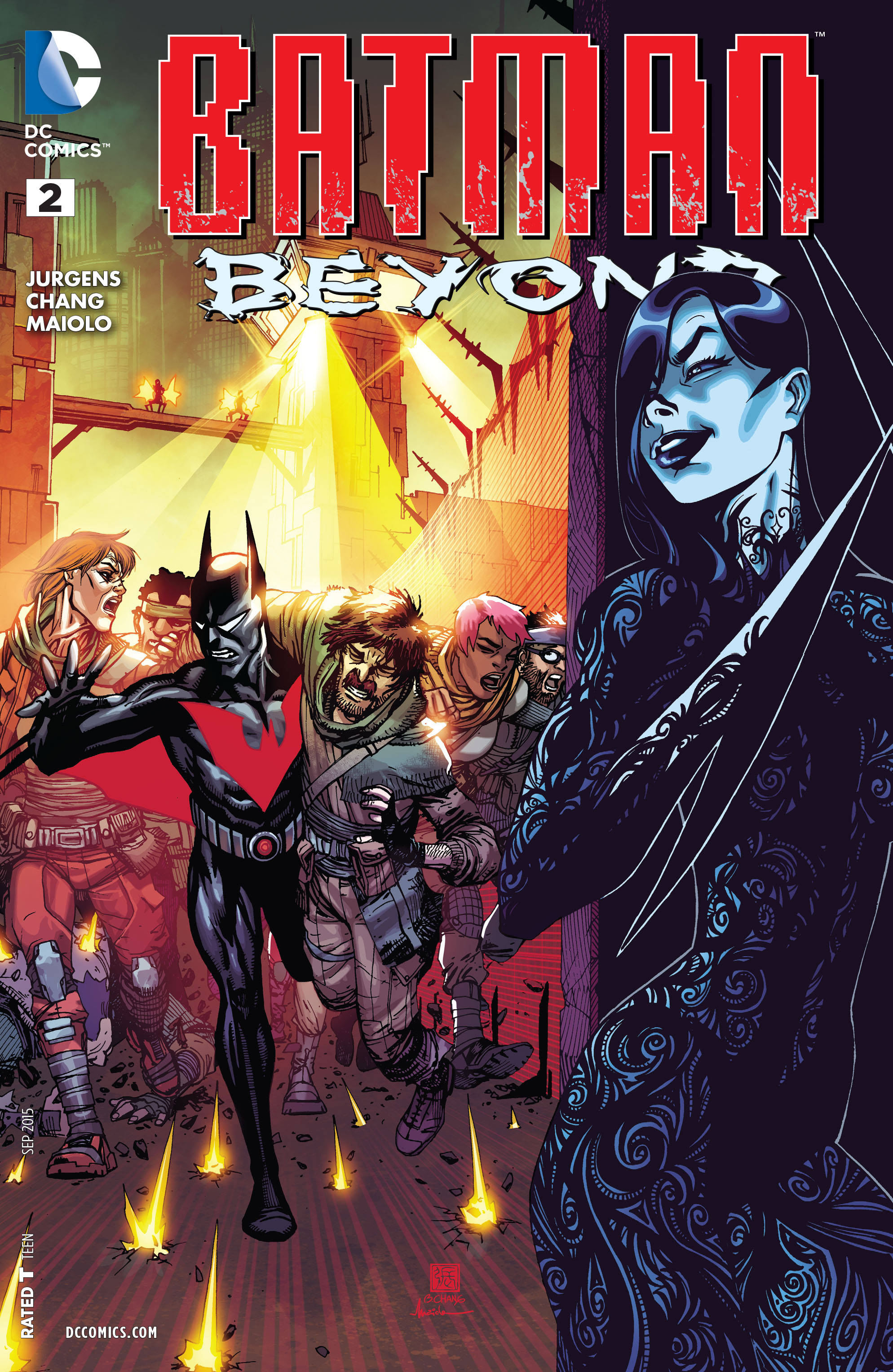 Batman Beyond (2015) Issue #2 #2 - English 1