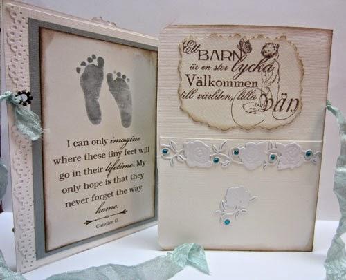 Baby Shower Kort Text ~ Louise scrapbooking och pyssel baby kort till pojke