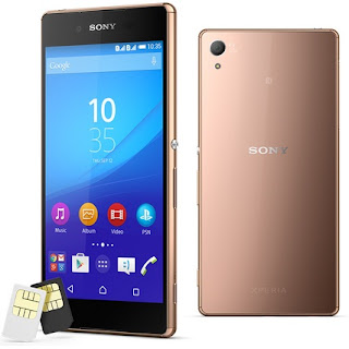 Sony Xperia Z3+ dual Android Phone Harga Rp 9.9 Jutaan