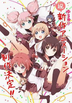 Yuruyuri nueva produccion animada anuncio 2014