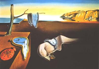 Salvador Dali, Persistência da Memória, Passagem das Horas, Álvaro de Campos