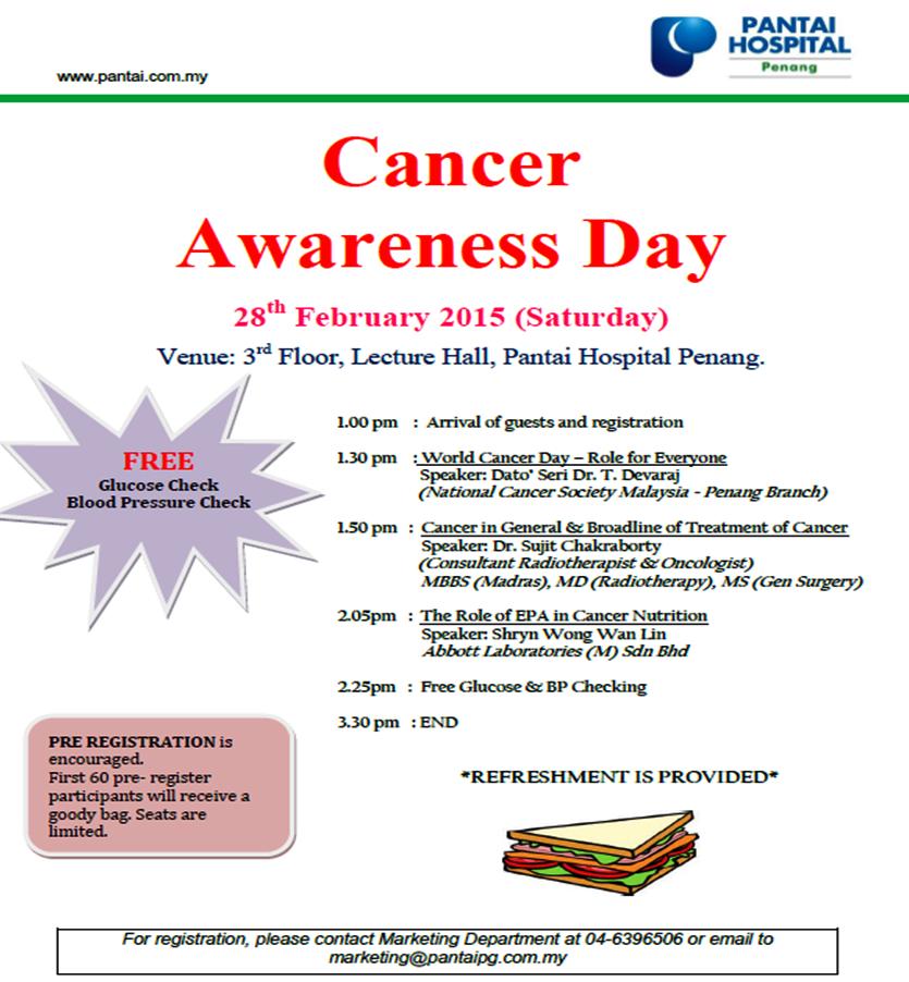 Ncsmpg public talk cancer awareness day