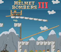 Helmet Bombers 3 walkthrough.