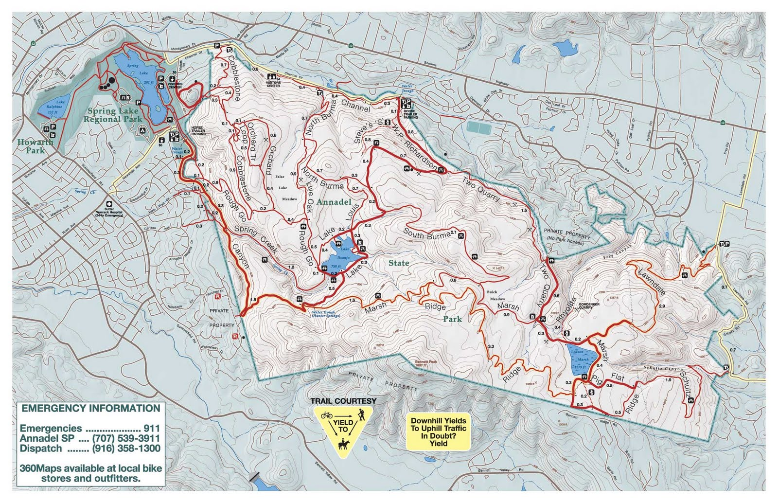 Sonoma Academy XC Fall 2014: Maps