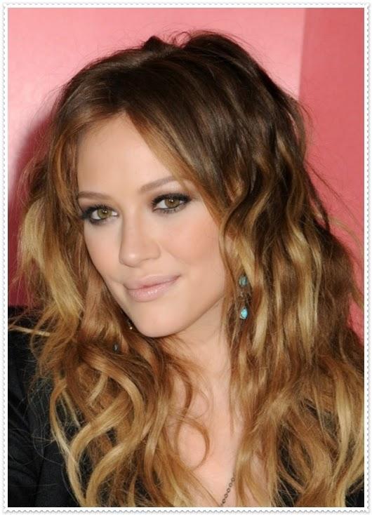 Honigbraune Haarfrisuren