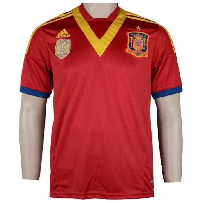 Jual Kaos Bola Jersey Jersey Bola Spanyol Home 2013
