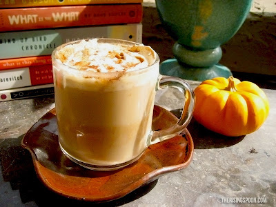 Homemae Pumpkin Spice Latte Recipe with Almond Milk