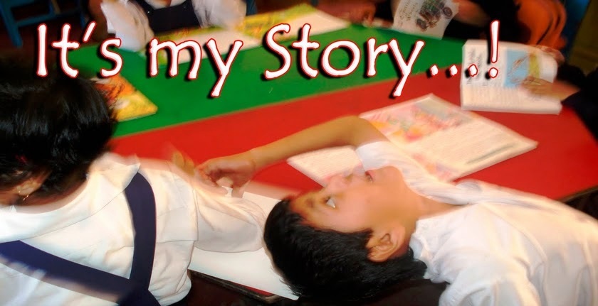 It's my story...!