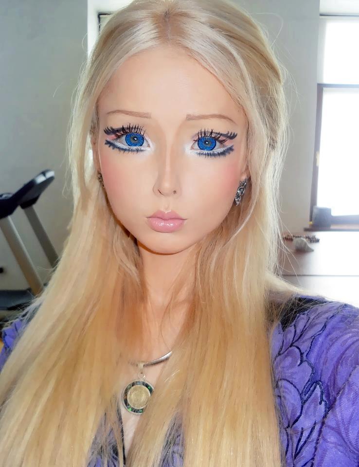 Tutorial Makeup Ala Gadis Barbie Valeria Lukyanova