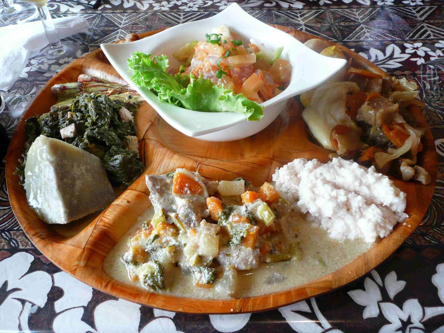 Le régime Tahiti , du soleil dans notre assiette!