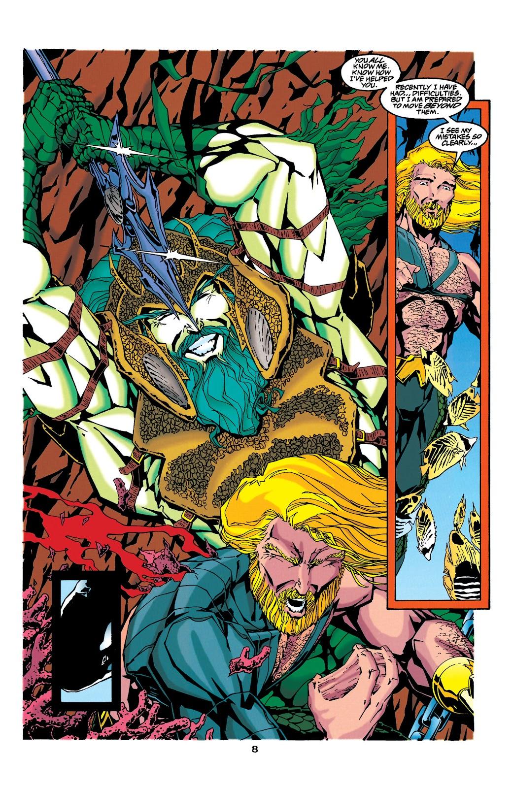 Aquaman (1994) Issue #34 #40 - English 7