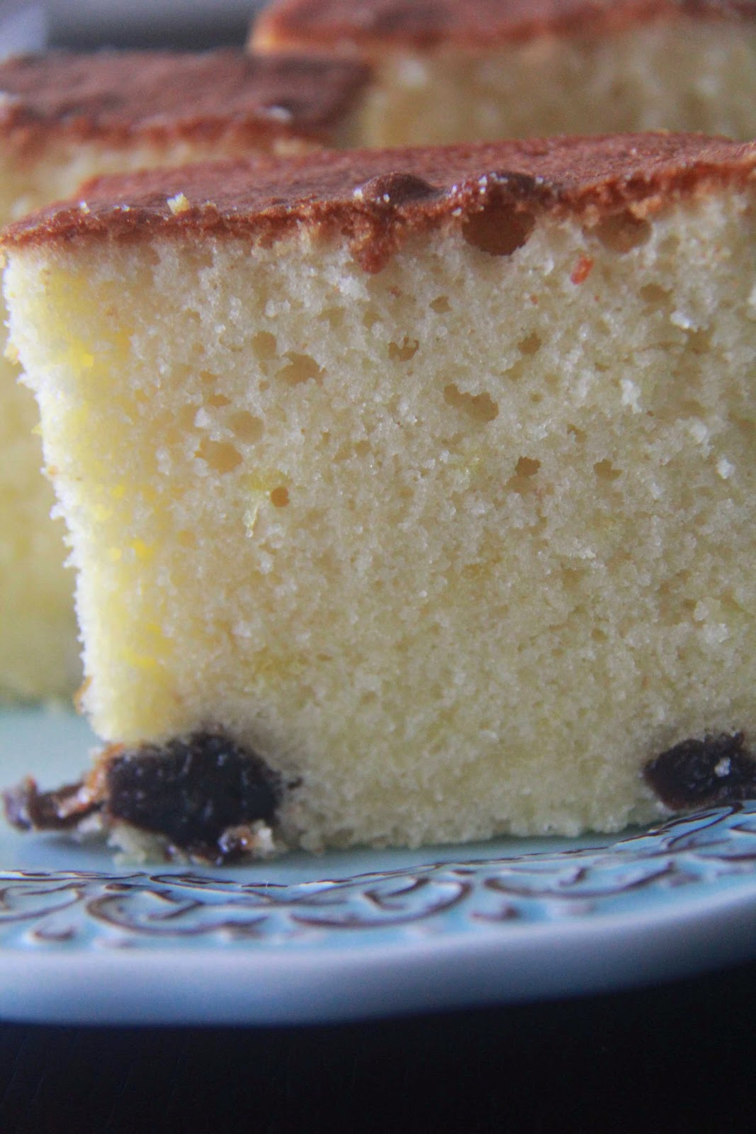 Simple Indulgence: Good Old Butter Cake with Prunes