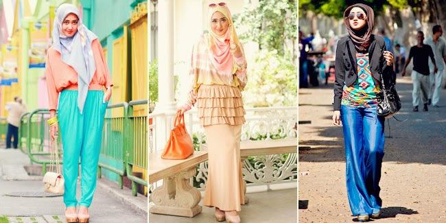 10 Contoh Model Baju Muslim Remaja Masa Kini Kumpulan