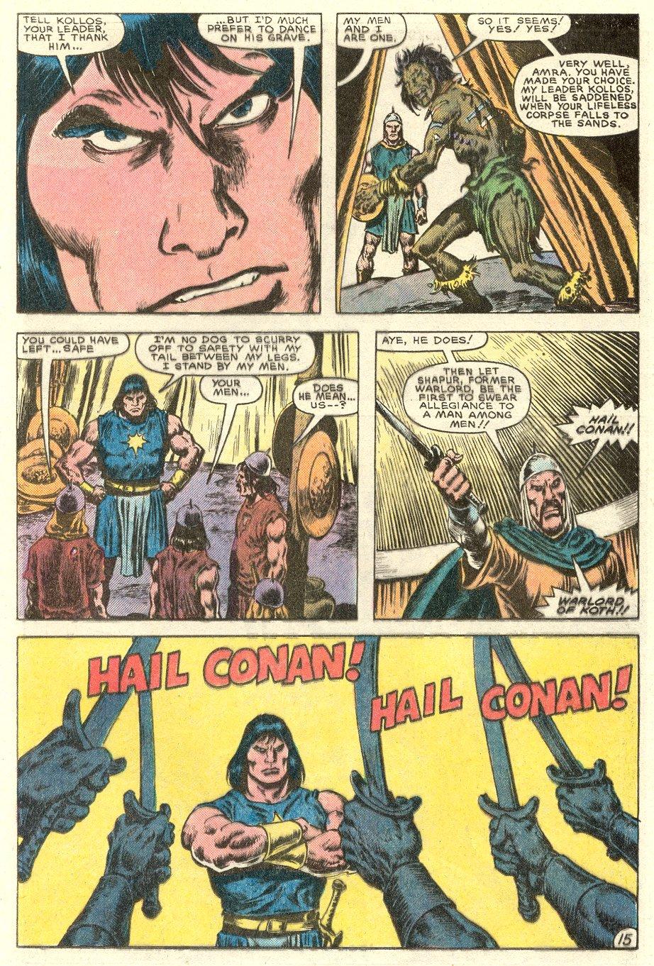 Conan the Barbarian (1970) Issue #182 #194 - English 16