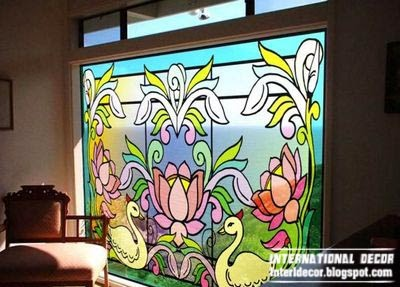 Stained Glass In The Interior Top Trends And Designs
