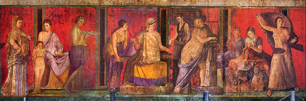 Ancient Roman Wall Painting | Art History Blogger